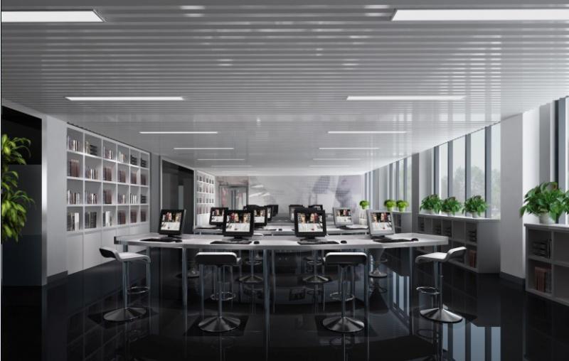 安特化妆品公司-苏州办公室装修·时尚简约