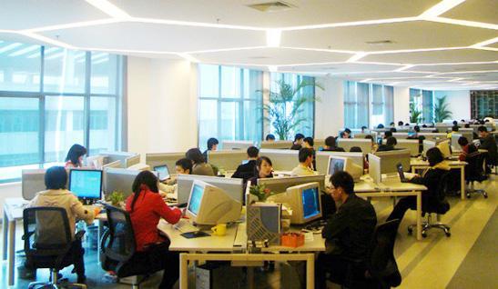 天星软件-苏州园区办公室装修·时尚简约