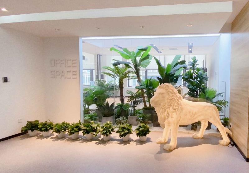 共享辦公室裝修設計——蘇州騰飛新蘇工業坊
